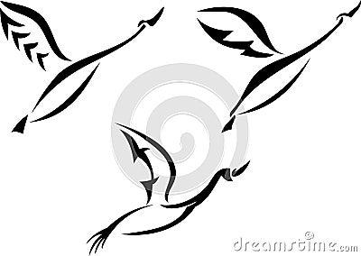 Swan design set