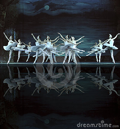Free Swan Lake Ballet Performed By Russian Royal Ballet Stock Photo - 14076390