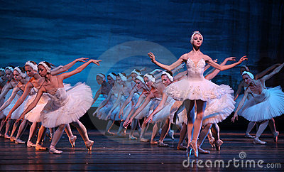 Swan Lake ballet performed by Russian Royal Ballet Editorial Image
