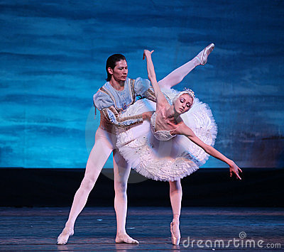 Swan Lake ballet performed by Russian Royal Ballet Editorial Photography