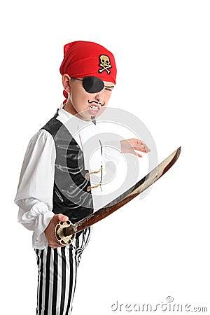 Swashbuckling Pirate