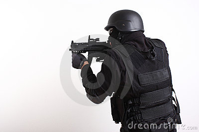 SWAT police officer