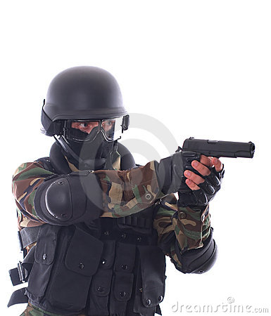 Free Swat Soldier Stock Photo - 2670080