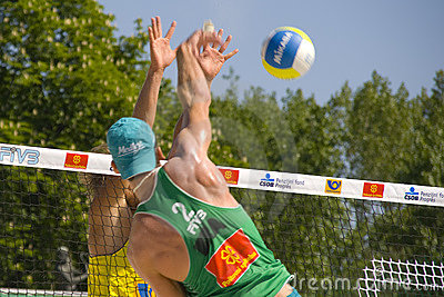 SWATCH FIVB World Tour Prague Editorial Photo