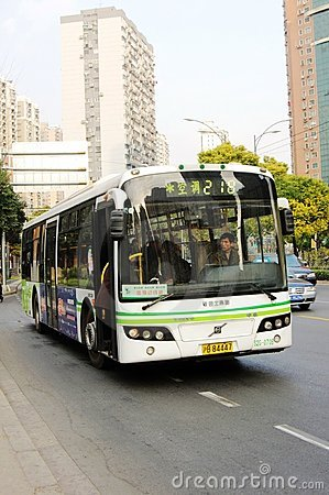SWB6120V4 12m City Bus Editorial Stock Image