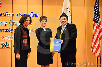 Swearing ceremony of the Volunteers Editorial Stock Photo