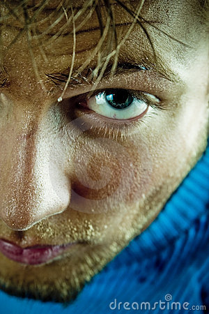 Free Sweat Face After A Workout Royalty Free Stock Photos - 2270508