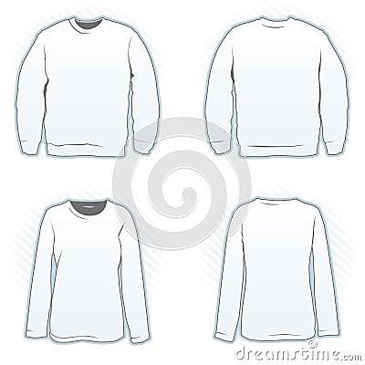 Sweatshirt Design Template Stock Vector - Image: 59499813