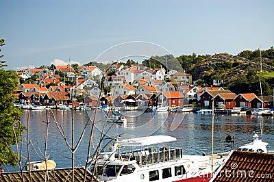 Sweden Boat on the lake