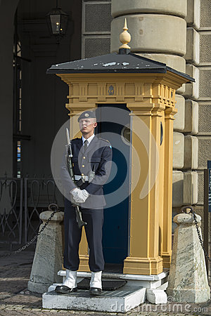 Sweden Royal Guard Editorial Image