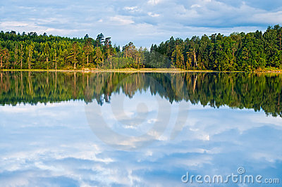 Sweden water reflections