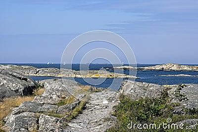 Swedish archipelago coast