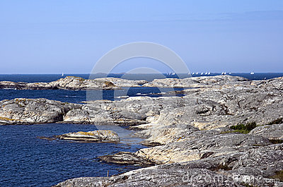 Swedish archipelago coast