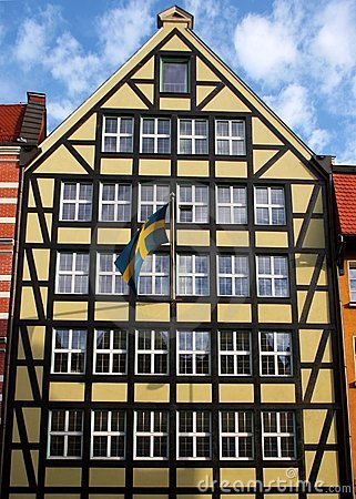 Swedish Consulate in Gdansk.