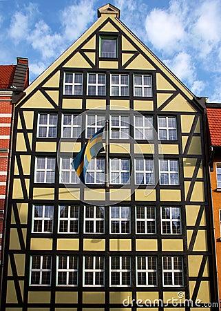 Swedish Consulate in Gdansk.