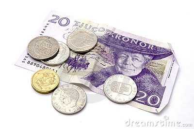 Swedish currency and coins