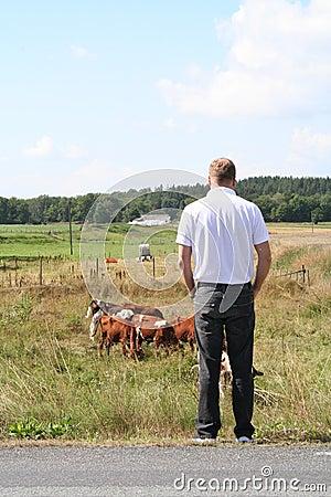 Swedish farmer