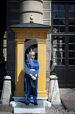Swedish female soldier Editorial Image