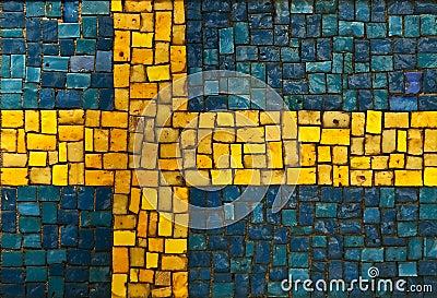 Royalty free stock image: swedish flag
