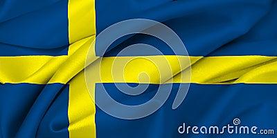 Swedish Flag - SWEDEN