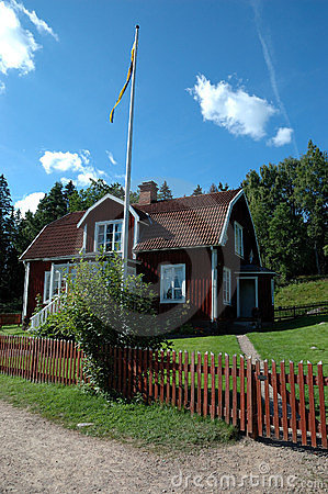 Swedish house in Astrid Lindgrens Katthult