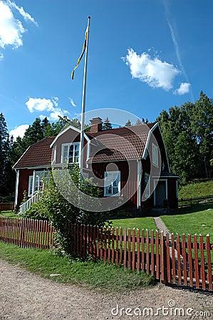 Swedish house in Astrid Lindgrens Katthult
