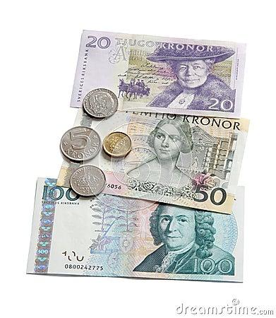 Swedish Krona.