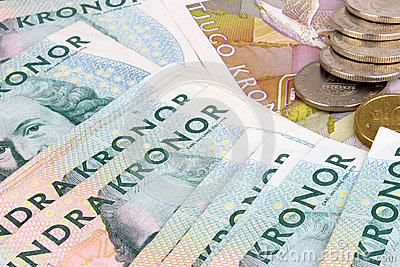 Swedish Kroner Notes & Coins