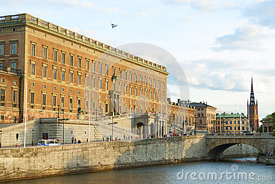 Swedish Royal Palace in Stockholm