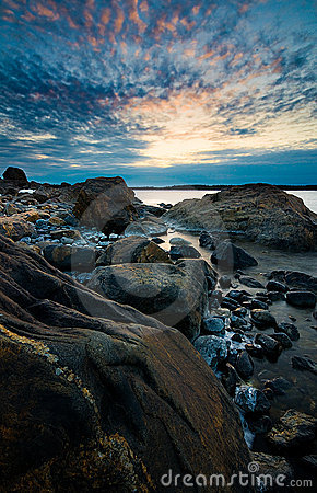 Swedish shoreline