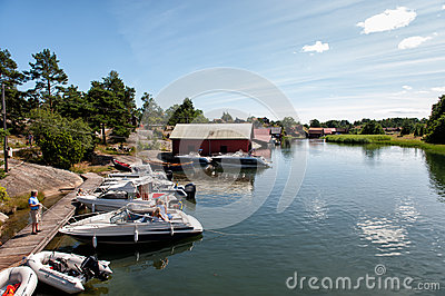 Swedish summer Editorial Stock Photo