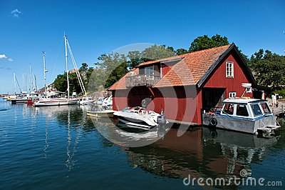 Swedish summer Editorial Stock Image