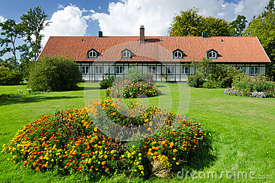 Swedish summer garden