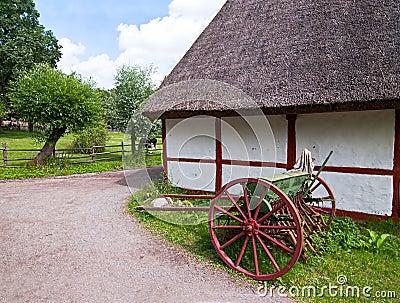 Swedish village.