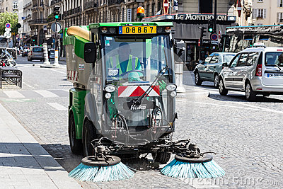 Sweeper Editorial Photography