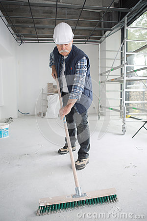 Free Sweeping Floor Dust Stock Photo - 93833090