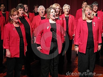 Sweet Adelines Editorial Photography