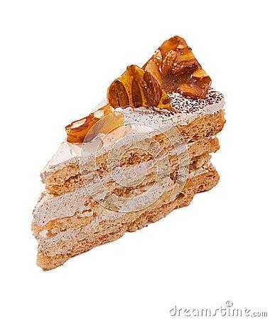 Sweet almond cake