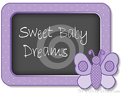 Sweet Baby Dreams Nursery Frame