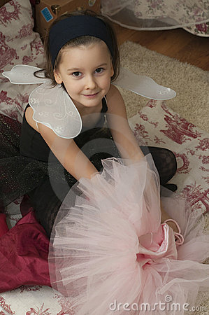 Sweet ballerina girl