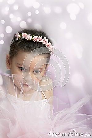 Sweet ballerina girl