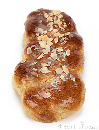 Sweet bread(tsoureki-greek recipe)