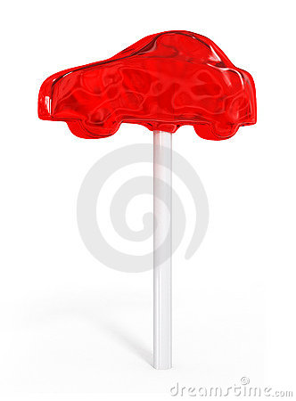 Sweet candy auto car idea