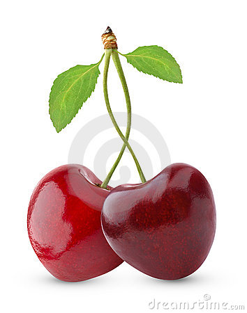 Free Sweet Cherries Royalty Free Stock Photos - 15359748