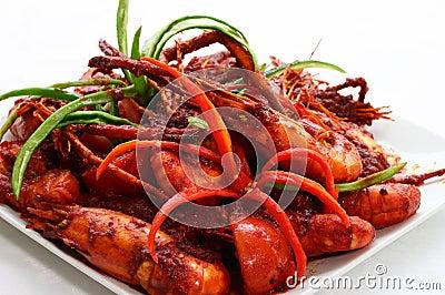 Sweet Chili Prawn