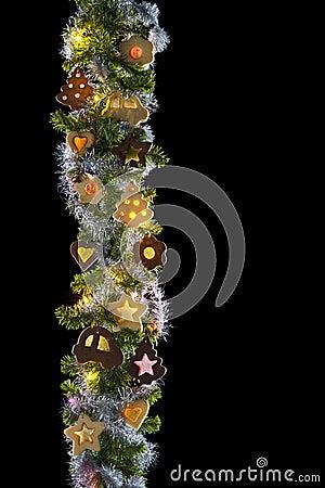 Sweet christmas garland