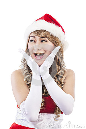 Sweet christmas woman 1