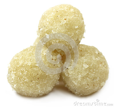 Sweet coconut ball named as Naru
