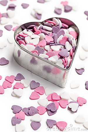 Free Sweet Colorful Hearts Stock Photo - 17916360