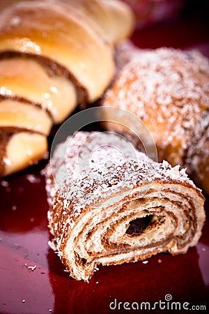 Sweet croissant